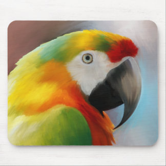 Papagei Mousepad Kesha Kunstwerk