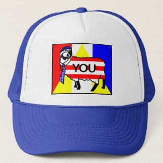 Papagei-Schafe Amerikaner Truckerkappe