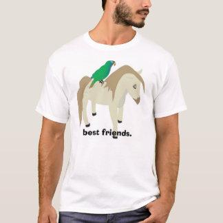 Papagei u. Pony - beste Freunde T-Shirt
