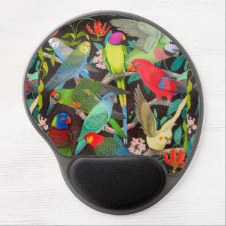 Papageien des Gels Mousepad der Weltii Gel Mouse Pad