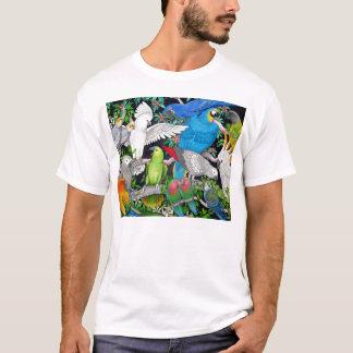 Papageien des Weltt-shirts T-Shirt