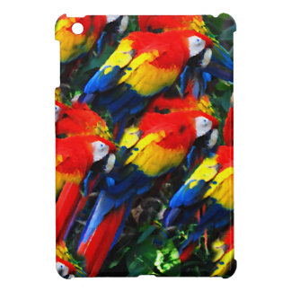 Papageien-Digital-Farbe iPad Mini Hülle