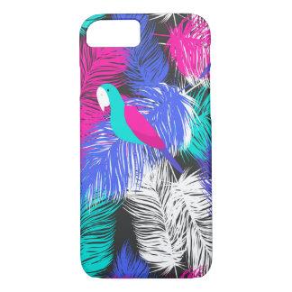 Papageien-Feder-Muster iPhone 7 Hüllen