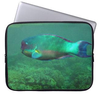 Papageien-Fische Laptopschutzhülle