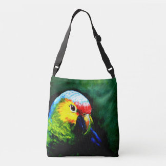 Papageien-Taschentasche Tragetaschen Mit Langen Trägern
