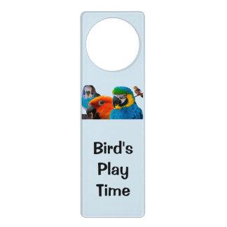 Papageien-Tür-Aufhänger - fertigen Sie Ihre Selbst Türanhänger