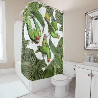 Papageien-Vogel-Tier-Tier-Duschvorhang Duschvorhang