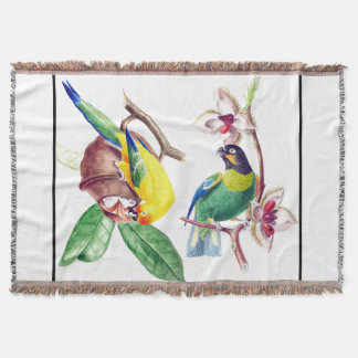 Papageien-Vogel-Tier-Tier-Wurfs-Decke Decke