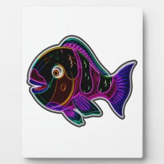 Papageienfisch Fotoplatte