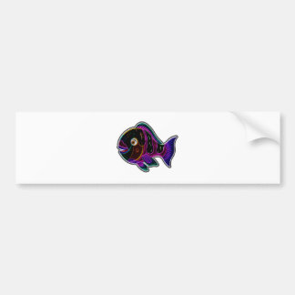 Papageienfische Autoaufkleber