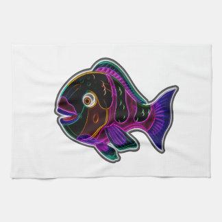 Papageienfische Küchentuch