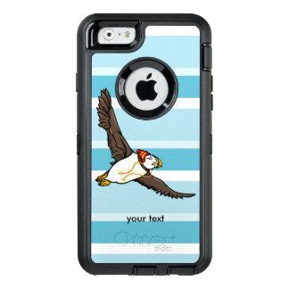 Papageientaucher, der einen Hut ein gestrickter OtterBox iPhone 6/6s Hülle