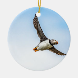 Papageientaucher-Vogel-Seeflug-Tier-Fliegen-Feder Keramik Ornament