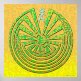 Papago Labyrinth Poster