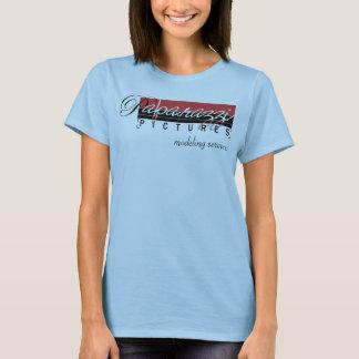 Paparazzi-Bilder, die Dienstleistungen modellieren T-Shirt