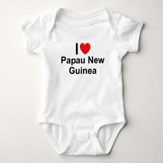 Papau Neu-Guinea Baby Strampler