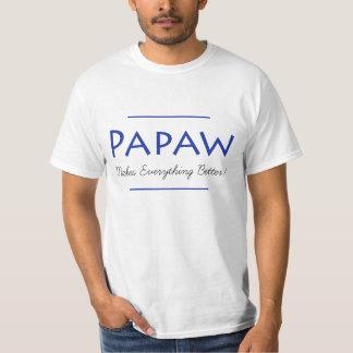 Papaya-Frucht stellt alles besseres Shirt her
