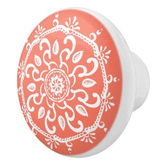 Papaya Keramikknauf