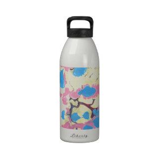 Paper Marbling Wiederverwendbare Wasserflaschen