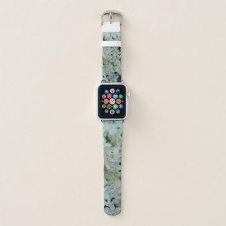 Paperwhite Narzissen-empfindliche weiße Blumen Apple Watch Armband