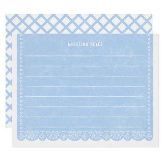 Papier-Schnitt-Fahnen-Briefpapier - Himmel Karte