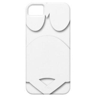 Papier-Schnitt-Hundetatzen-und -herz-Form iPhone 5 Case