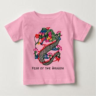 Papier-Schnitt-Jahr des Drache-T - Shirt