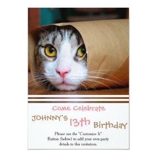 Papierkatze - lustige Katzen - Katze meme - Karte