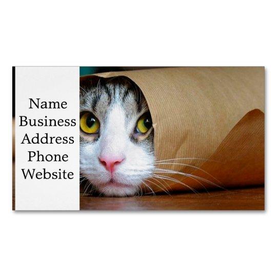 Papierkatze Lustige Katzen Katze Meme Magnetische