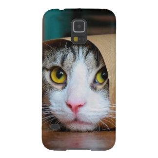 Papierkatze - lustige Katzen - Katze meme - Samsung Galaxy S5 Hülle