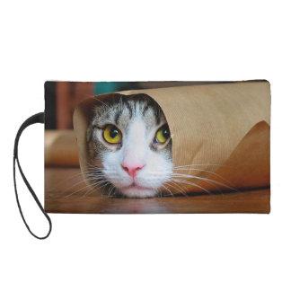 Papierkatze - lustige Katzen - Katze meme - Wristlet