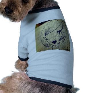 Papiermädchen Hundebekleidung