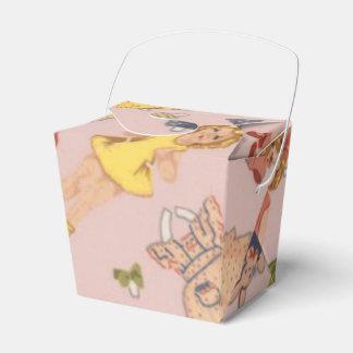 Papierpuppenbevorzugungskasten Geschenkschachtel