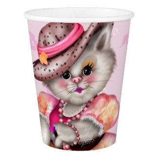 PAPIERschale 2 MADAME-CAT LOVE Pappbecher