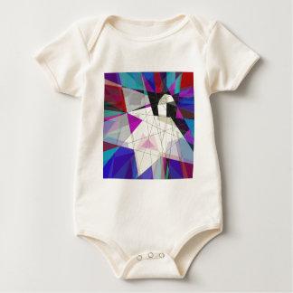 Papierschwan Baby Strampler