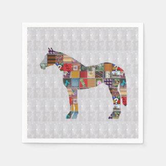 Papierserviette - Pferderennen KUNST durch Navin