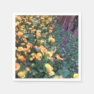 Papierservietten-Blumen-Girlanden KUNST durch