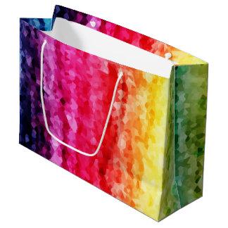 Papiertasche des abstrakten Druckes der Große Geschenktüte