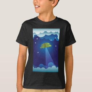 Papiertheater - UFO T-Shirt
