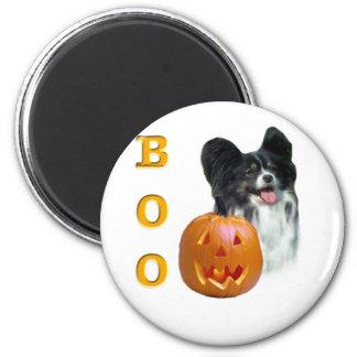 Papillon Halloween BOO Runder Magnet 5,7 Cm