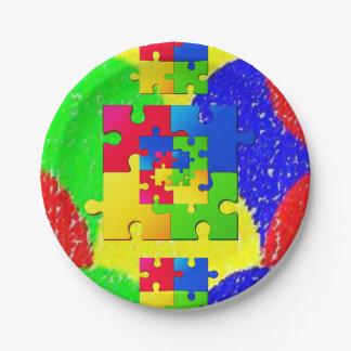 Pappteller-Puzzlespiele Pappteller
