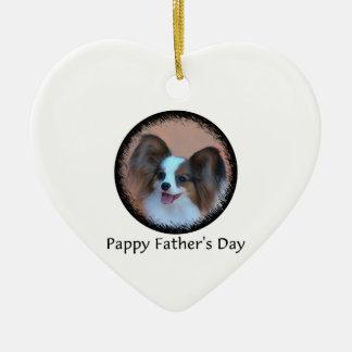 Pappy der Vatertag Keramik Ornament