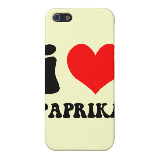 Paprika der Liebe I iPhone 5 Cover