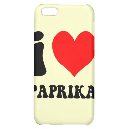 Paprika der Liebe I iPhone 5C Schale