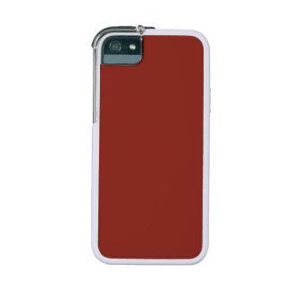PAPRIKA (feste tiefrote Farbe) ~ iPhone 5 Cover