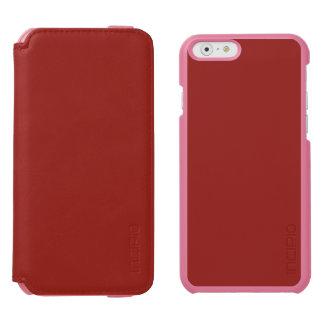 PAPRIKA (feste tiefrote Farbe) ~ Incipio Watson™ iPhone 6 Geldbörsen Hülle