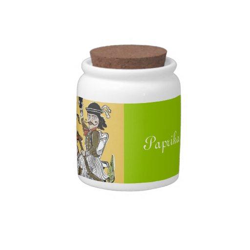 Paprika-Power Plätzchendose