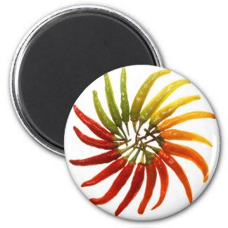 Paprika Runder Magnet 5,1 Cm