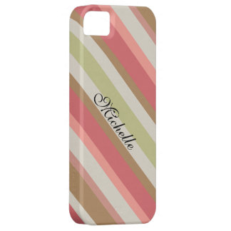 Paprika Stripes Muster iPhone 5 Case