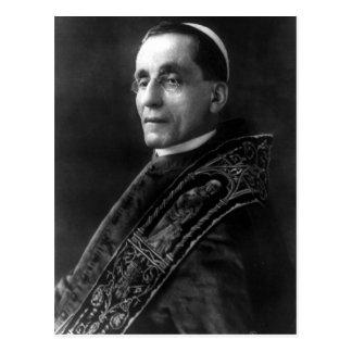 Papst Benedikt XV Postkarte